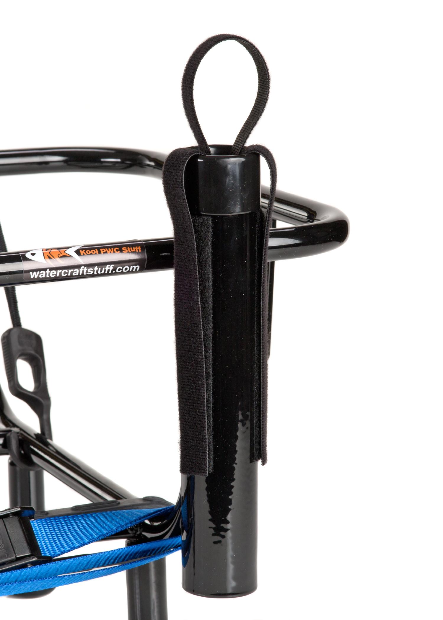 Jetski fishing rack with 4 rod holders kool pwc for Fishing rod organizer
